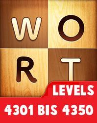 Wort Guru Levels 4301 bis 4350 lösungen
