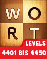 Wort Guru Levels 4401 bis 4450 lösungen