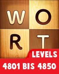 Wort Guru Levels 4801 bis 4850 lösungen